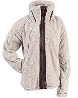Apparel No. 5 Women's Sherpa Fleece Full Zip Warm Winter Jacket