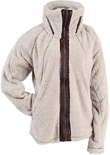 Apparel. No. 5 Women's Sherpa Fleece Full Zip Warm Winter Jacket