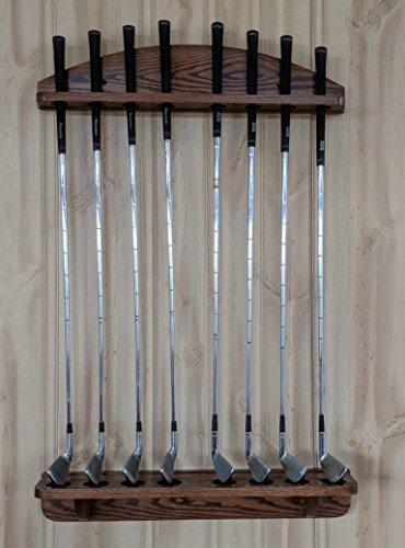 - Weaver Wood Designs 8-Club Golf Club Wall Display Rack