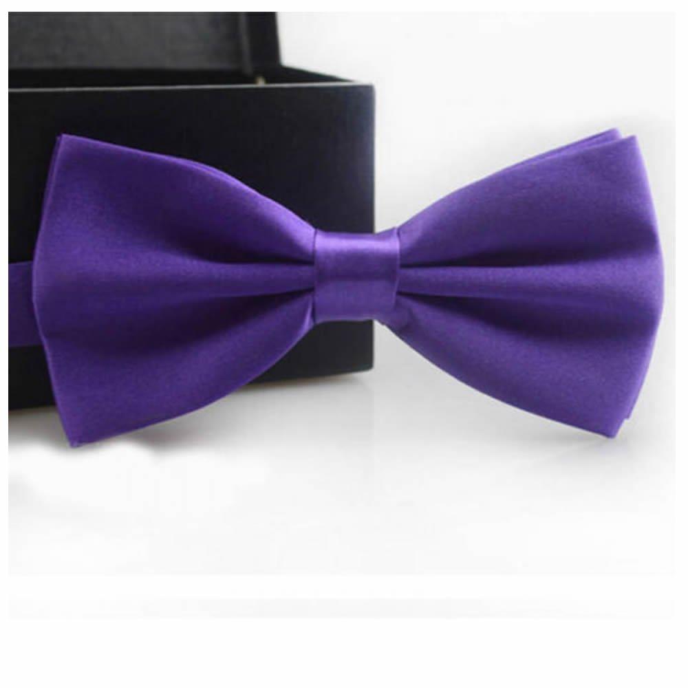 GOOTRADES Classic Men's Butterfly Bow Tie Groom Tuxedo Necktie Wedding Adjustable (Blue)