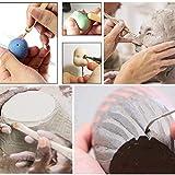 LAMPTOP 61PCS Ceramic Clay Tools Set,Polymer Clay