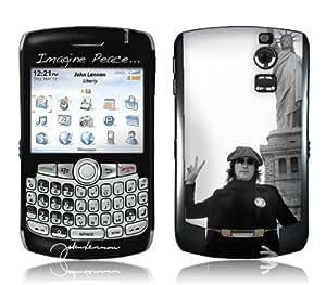 MusicSkins, MS-JL20006, John Lennon - Liberty, BlackBerry Curve (8300/8310/8320), Skin