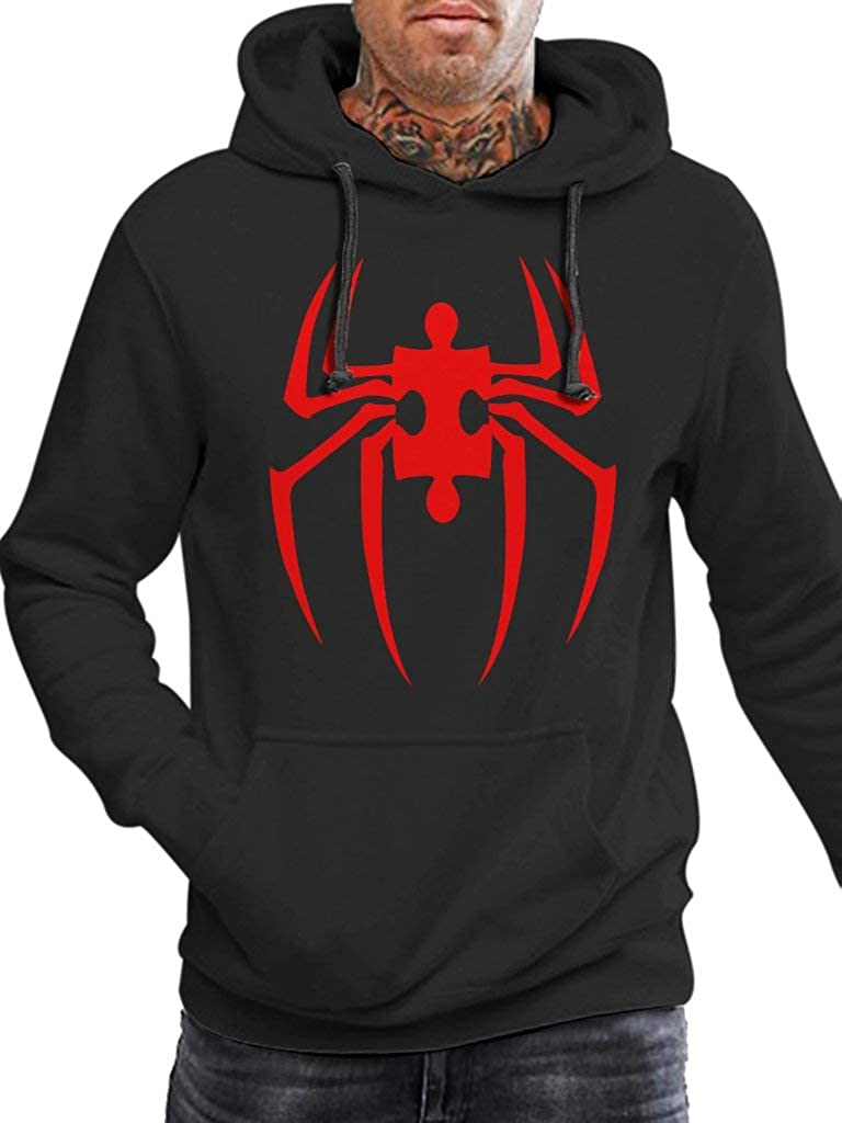 Spider-Man Symbol Autism Funny Vintage Trending Awesome Gift Hoodie