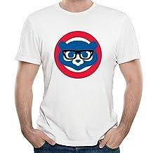 Funny Glasses Cubs Black 80s Blended T-Shirts