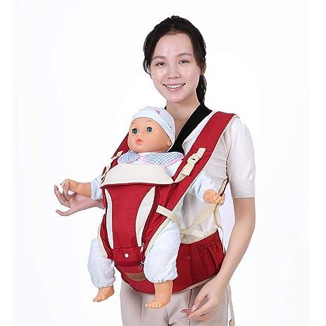 2-en-1 Porte-bébé Ventral/Dorsal Ergonomique
