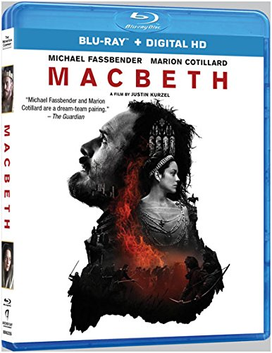 Blu-ray : MacBeth (Ultraviolet Digital Copy)