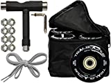 Epic Trailblazer Black Outdoor Wheel Deal 8 Pack - 6 Piece Outdoor Wheels Bundle! (Black)