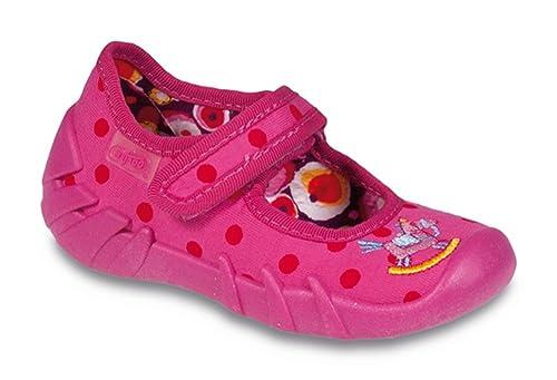 Befado - Zapatillas de estar por casa para niña Varios Colores Muster-2: Amazon.es: Zapatos y complementos