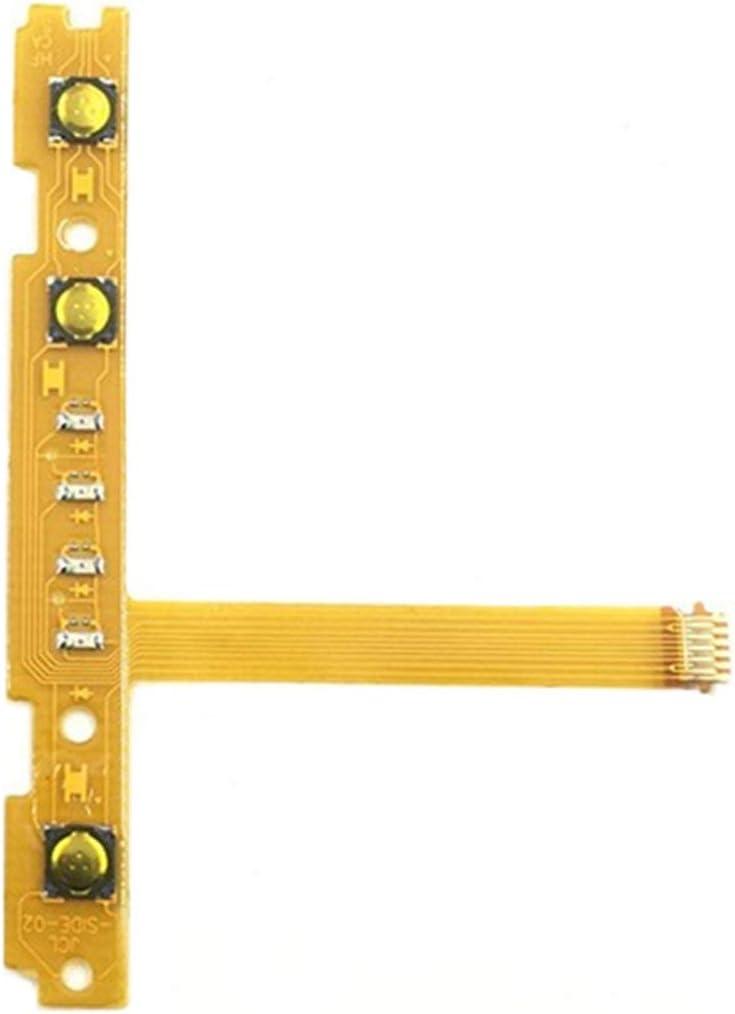BCVBFGCXVB Accesorios de reparación SL SR Botón Tecla L/R Cable Flexible para Nintend Switch Joy-con Controller Line (Naranja)