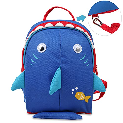 Price comparison product image Yodo Kids Insulated Toddler Backpack with Safety Harness Leash and Name Label - Playful Preschool Lunch Boxes Carry Bag