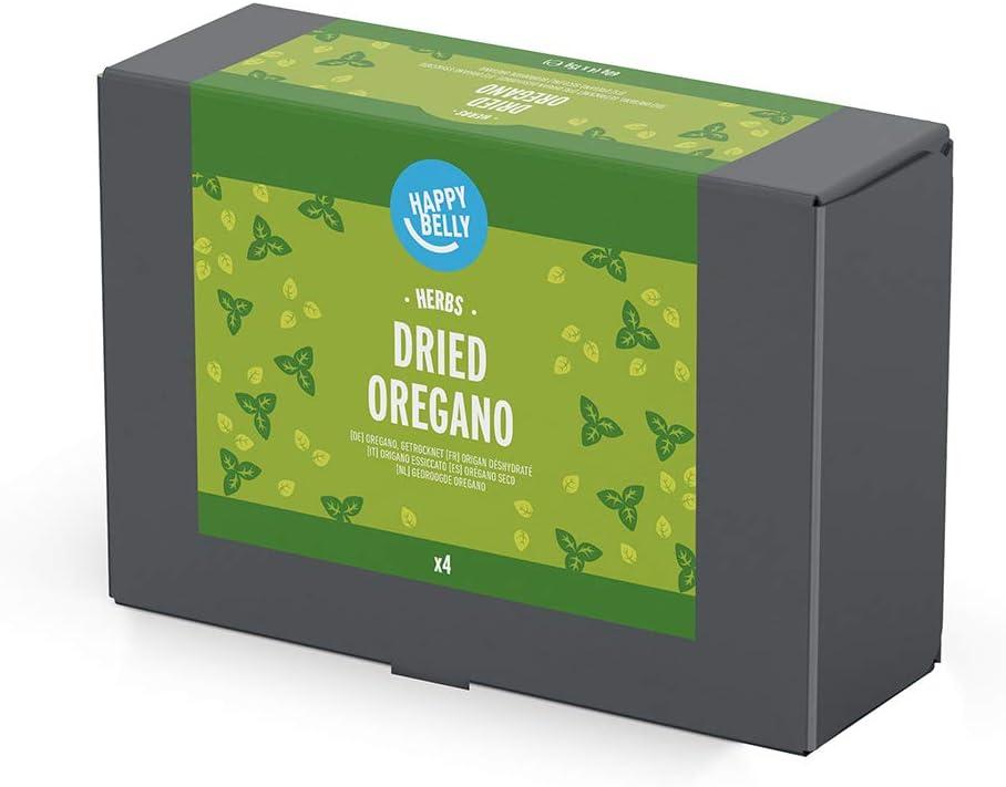 Marca Amazon - Happy Belly - Orégano seco, 4x15g: Amazon.es ...
