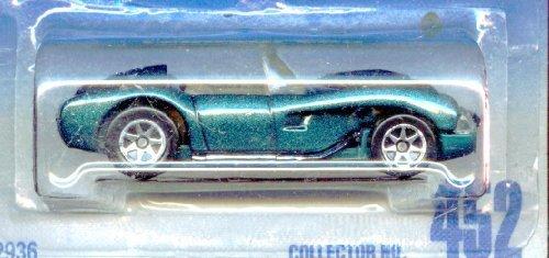 Hot Wheels 1991-452 Blue Card Green Ferrari 250 1:64 - Green Ferrari