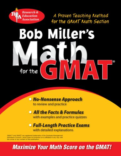 Bob Miller's Math for the GMAT  (Test Preps)