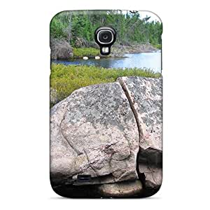 Premium [lyDfq5789OJPvh]big Rock In The Forest Case For Galaxy S4- Eco-friendly Packaging