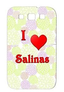 I Love Salinas 21 Heart Love Hearts Salinas Red For Sumsang Galaxy S3 Cover Case