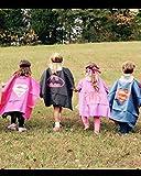 Superhero Costume and Dress Up for Kids - Satin Cape and Felt Mask (c-Wonder Woman)