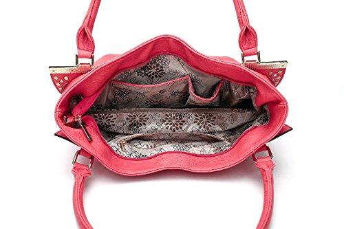 Hobo Farrow Bag Apricot K Caylani Mia by Designer MKF Collection CHqxfUUg