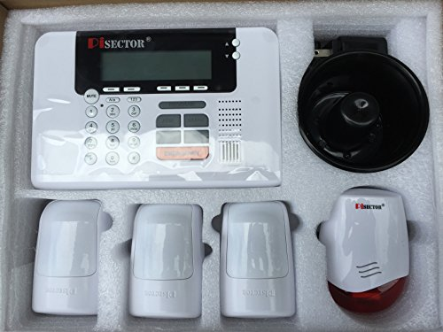 Pisector Professional Wireless Home Security Alarm System