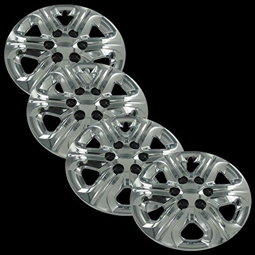 "Chrome 17"" Hub Cap Wheel Covers for Chevrolet Traverse - Set of 4"