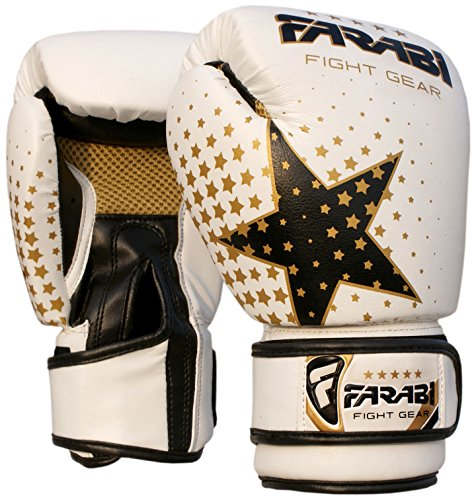 (Kids boxing gloves junior boxing gloves junior MMA Muay thai kickboxing and punching bag mitts 6Oz)