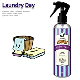 Natural Deodorizer Linen And Air Freshener Spray SMELLY - The Best Stink Killer For Room And Fabric (60ml, 250ml) (Laundry Day, 250 ml (8.5 fl oz))