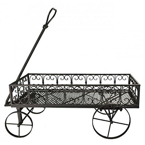 Mueble con ruedas cesta para madera puerta buche Ranges leña de chimenea carreta con planta, hierro marrón 38 x 90 cm: Amazon.es: Hogar