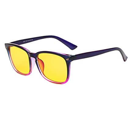 a96ca166a1 Image Unavailable. Image not available for. Color  EBT Computer Glasses  Anti Blue Ray ...