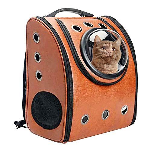 QKEMM Kleine Hunde Welpen Katze Tasche Hundetasche Schultern Gehen Tragbare Atmungsaktive Reisen aus Haustier…
