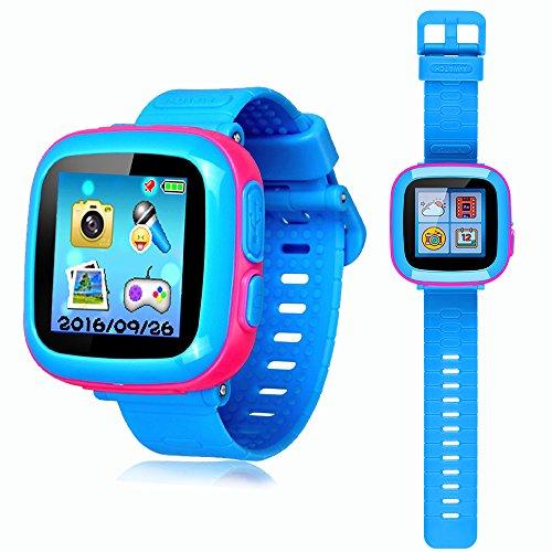 Best Smart Toys For Kids Reviewed : Yncte smart watch kids digital camera games touch screen