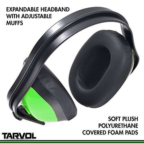 Hearing-Protection-Ear-Muffs-SUPER-COMFORTABLE-EAR-PROTECTION-Reduce-Sound-by-22DB-Over-The-Ear-Compact-Foldable-Design-Perfect-for-Firearm-Shooting-Hunting-Construction-and-More