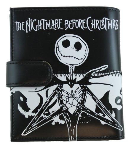 Black Nightmare Before Christmas Magentic Close Wallet - Jack Skellington (Jack Skellington Purses)
