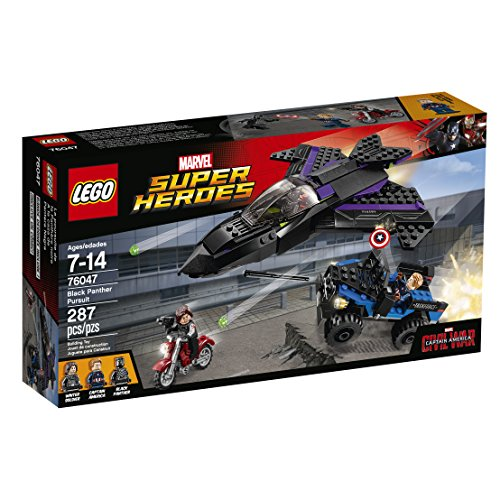 LEGO Marvel Super Heroes Black Panther Pursuit 76047 Toy by LEGO
