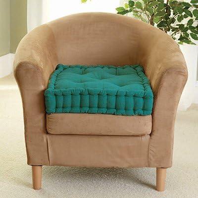 "Patio Seat Pad Garden Royal Blue EGYPTO 2 Pack 4/"" Armchair Booster Cushion Chair"