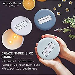 Nature's Blossom Candle Making Kit - DIY Star