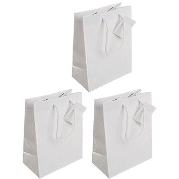 Amazon.com: Pequeño color sólido Premium bolsas de regalo de ...