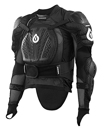 six six one Rage Pressure Suit (Black, Large)