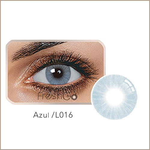 Yiiena Multi-Color Cute Contact Lenses Color Blends Cosplay Eyes Cosmetic Makeup Eye Shadow (A -