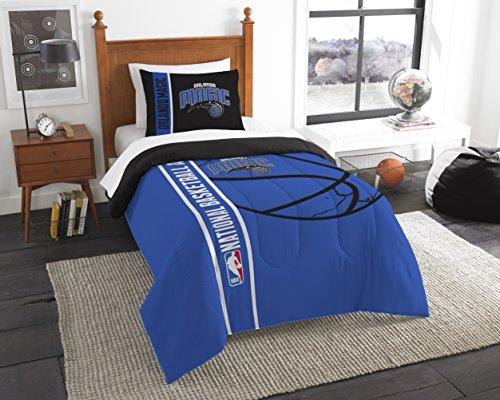 NBA Orlando Magic Printed Twin Comforter & Printed Sham, 64