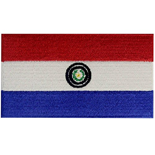 Paraguay Costume For Women (Paraguay Flag Embroidered Patch Paraguayan Iron On Sew On National Emblem)