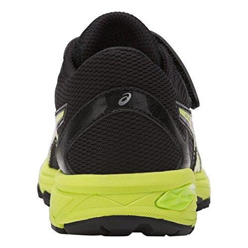 Asics Gt-1000 6 Ps, Zapatillas de Gimnasia Unisex Niños Negro (Black/energy Green/silver)