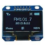 Sopear 1.3inch 128 x 64 Blue OLED Module LCD Display IIC I2C Communicator