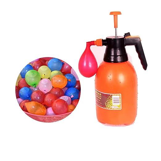 qin-er Balloons Bola de Vapor de Agua de Color pequeño, pequeño ...