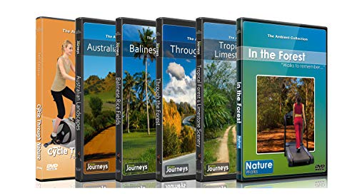 DVD Forest Combo Pack - Nature's Scenic Walks and Cycle Rides from images
