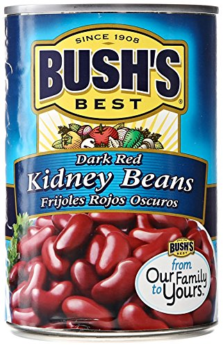 Bush's Best Kidney Beans, Dark Red, 16 oz