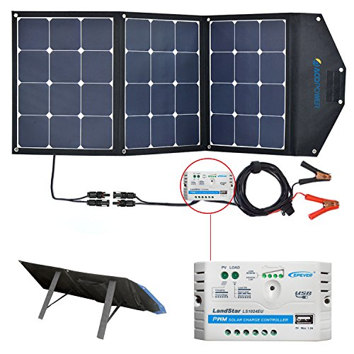 Solar Panels For Rv Portable Suitcase Solar Kit With