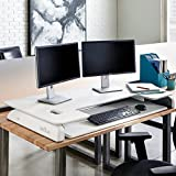 VARIDESK - Big and Tall Height-Adjustable Standing Desk - Exec 48 - White