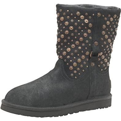 3ed3940780e Ugg Womens Eliott Leather Boots Black - 4.5 UK 4.5 US 6 EUR 37 ...