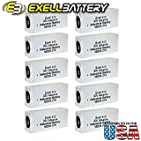 10pc Exell 413A Alkaline 30V Battery NEDA 210, 20F20, BLR123 ER413