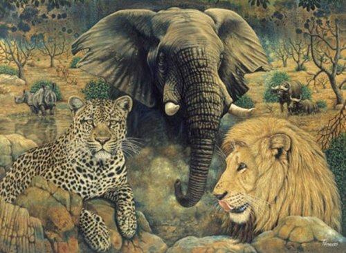 Puzzle 1500 Teile Der Geist Afrikas 9458 von RgSGroup
