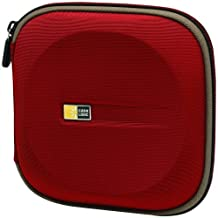 Case Logic EVW-24 EVA Molded 24 Capacity CD/DVD Case (Red)